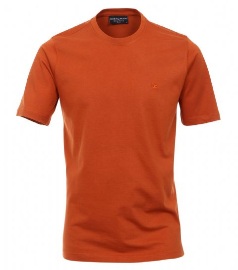 CASAMODA  Orange T Shirt 100% Cotton